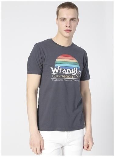 Wrangler Wrangler W7AID3XAE_Grafik T-shirt  Lacivert